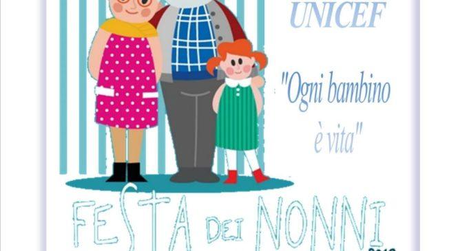 2 ottobre. Festa dei nonni. Campagna Unicef