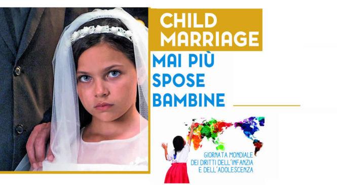 20 novembre. Mai più spose bambine. Conferenza