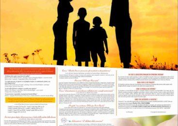 Associazione Lauretana per la promozione della famiglia. Programma 2018/2019