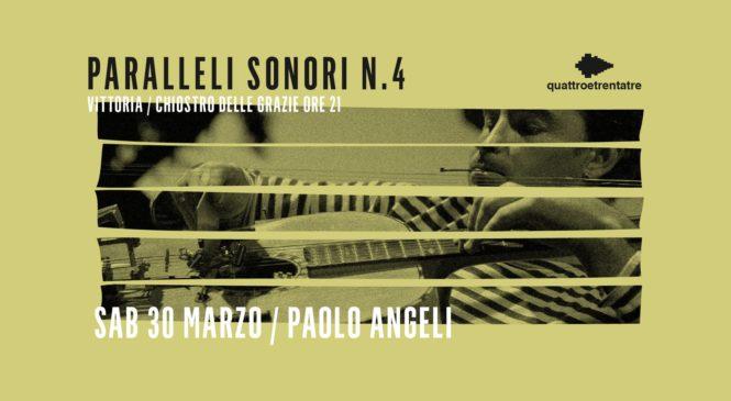 """30 Marzo – Paolo Angeli """"Free Radiohead"""""""