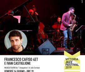 14 Giugno ore 21: Francesco Cafiso 4et e Ivan Castiglione
