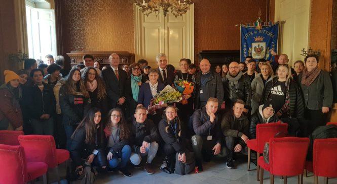 Palazzo Iacono apre le porte agli alunni del Progetto Erasmus.