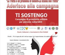 """Adesione alla Campgna """"Ti Sostengo"""""""
