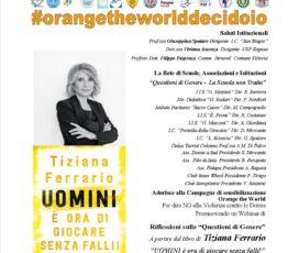 26 Novembre – Questioni di genere – la scuola non tratta – Webinar – Ospite la giornalista Tiziana Ferrario